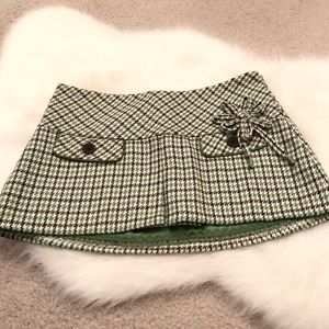 Abercrombie & Fitch vintage wool mini skirt size 0